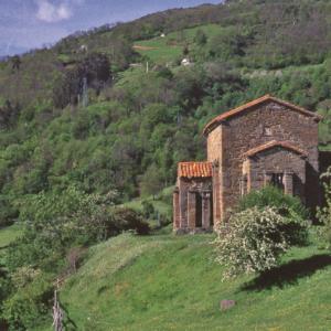 Ruta Vía de la Plata. Santa Cristina de Lena. Asturias