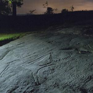 Caminos de Arte Rupestre. Petroglifo Campo Lameiro